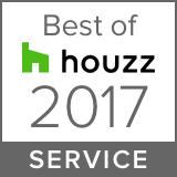 Houzz Best Service Winner 2017