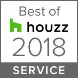 Houzz Best Service Winner 2018