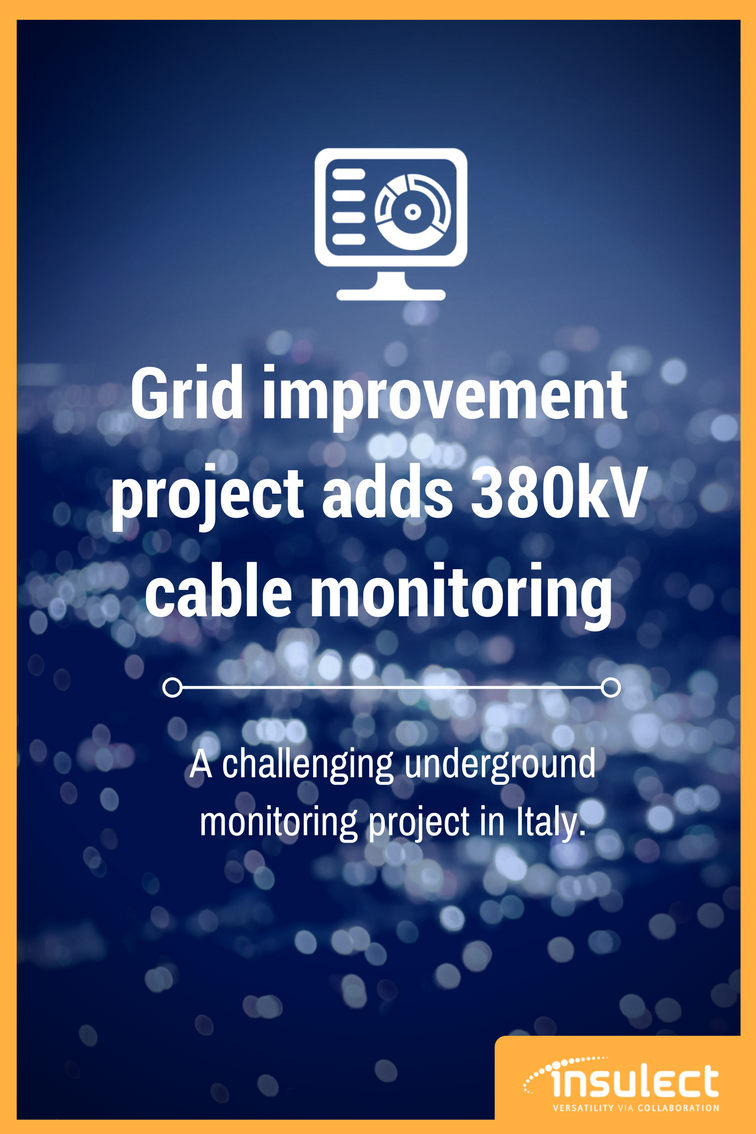 Power Cable monitoring grid improvement