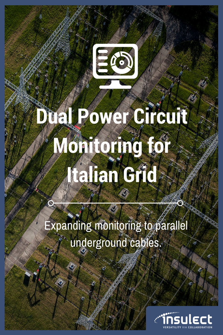 underground Power Cable monitoring case study italy