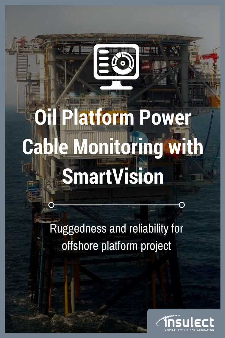 underground Power Cable monitoring case study oil platform