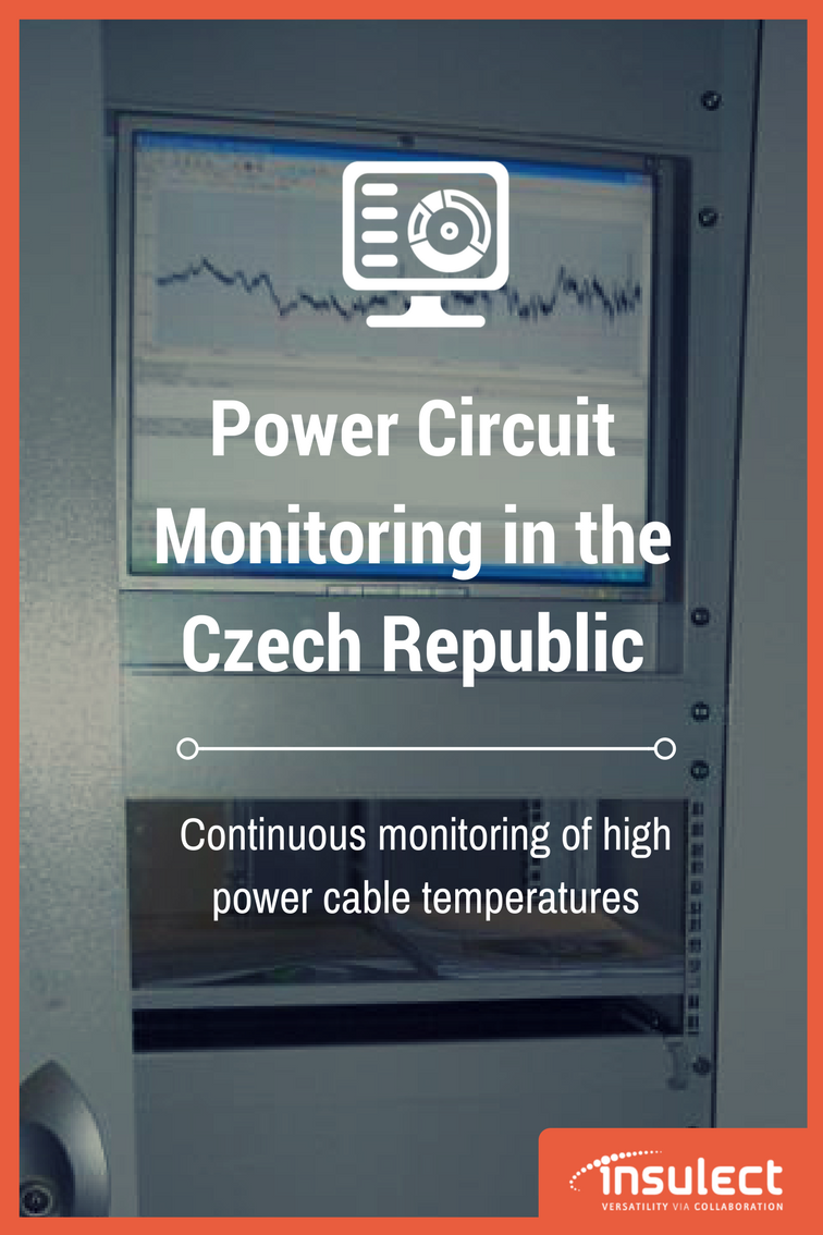 underground Power Cable monitoring case study Czech Republic