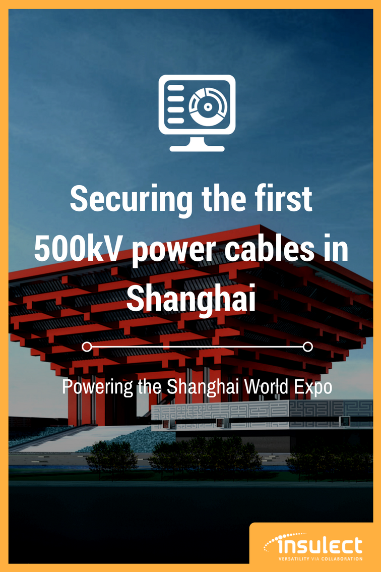 underground Power Cable monitoring case study Shanghai Expo