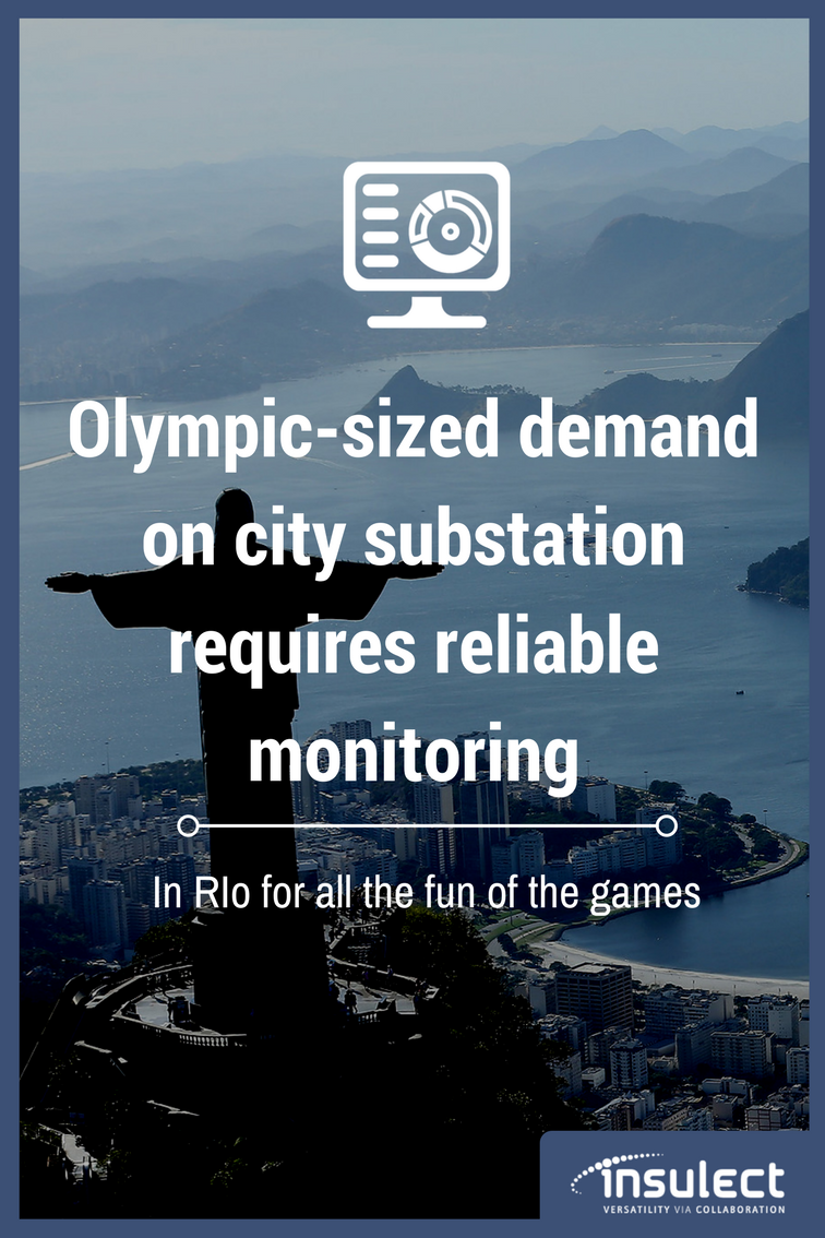 underground Power Cable monitoring case study Rio Olympics