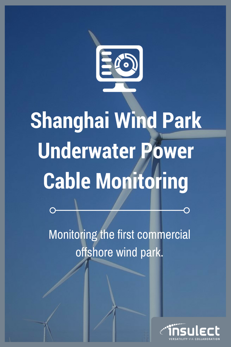 Shanghai power cable wind park monitoring case study