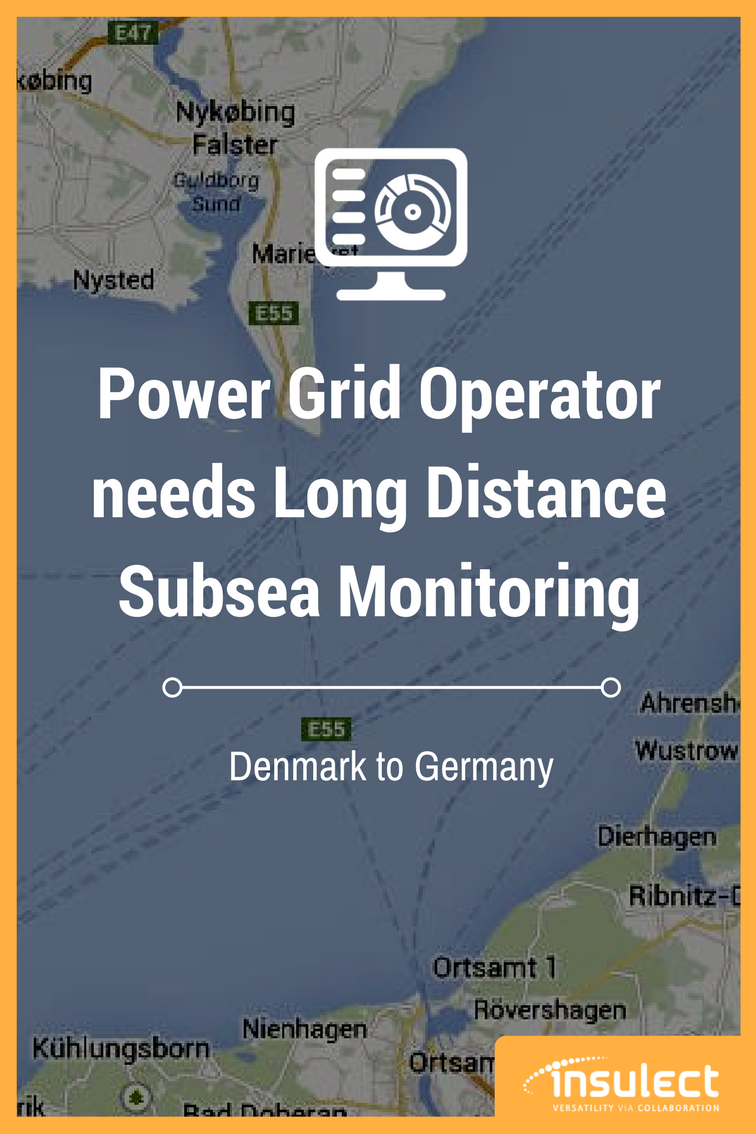 Subsea power cable monitoring with AP Sensing in Denmark