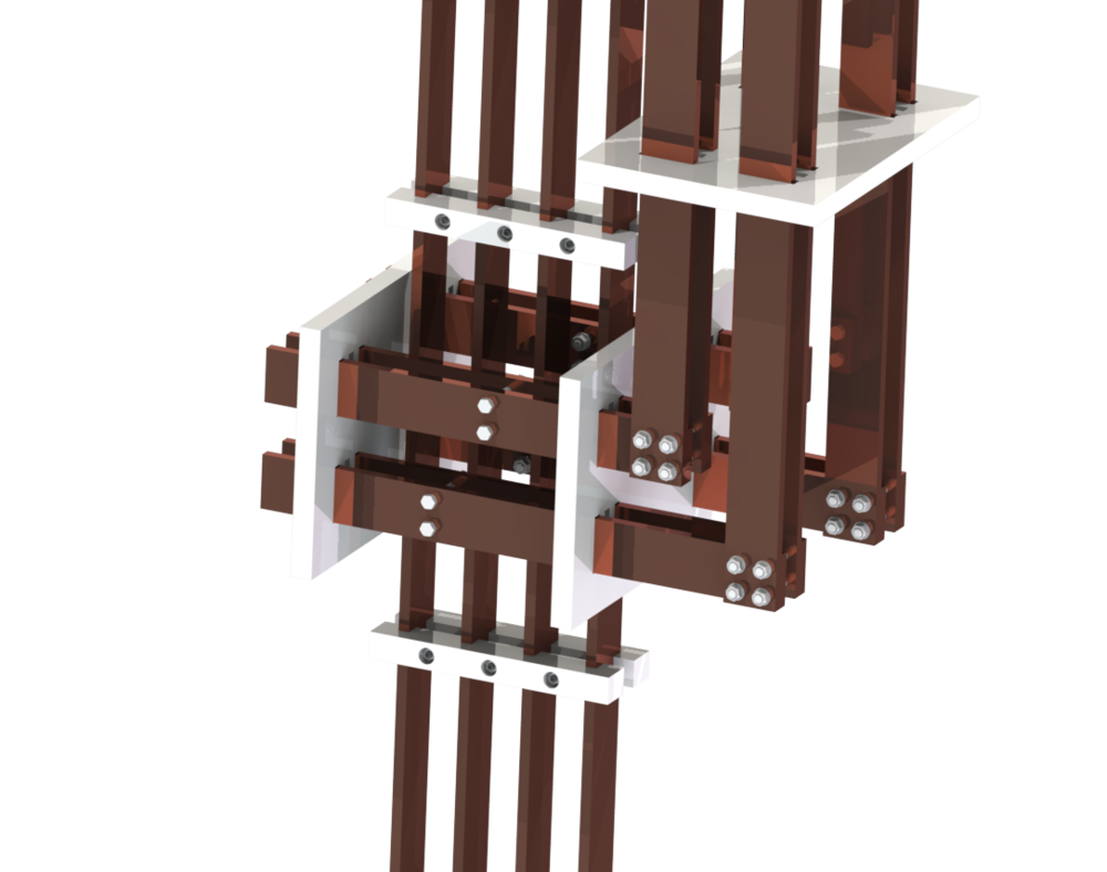 Switchboard busbar insulation