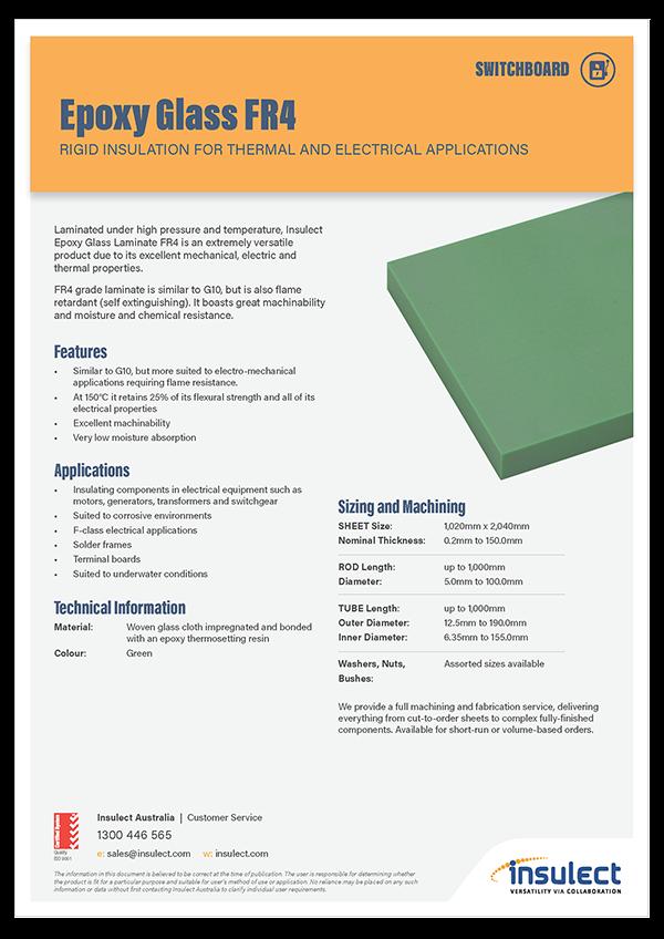 Insulect Brochure - Epoxy Glass FR4