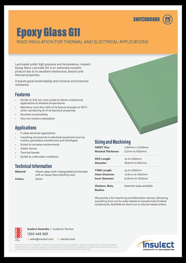 Insulect Brochure - Epoxy Glass G11