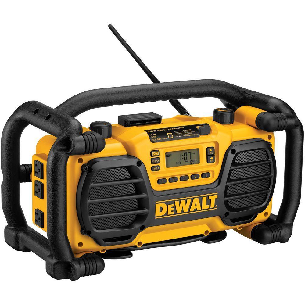 dewalt jobsite radio charger