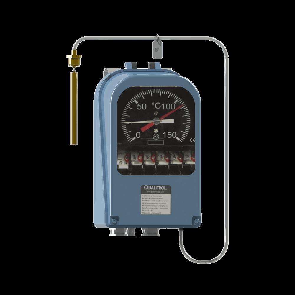 Qualitrol Akm Otiwti Capillary Based Oil Thermometer Insulect