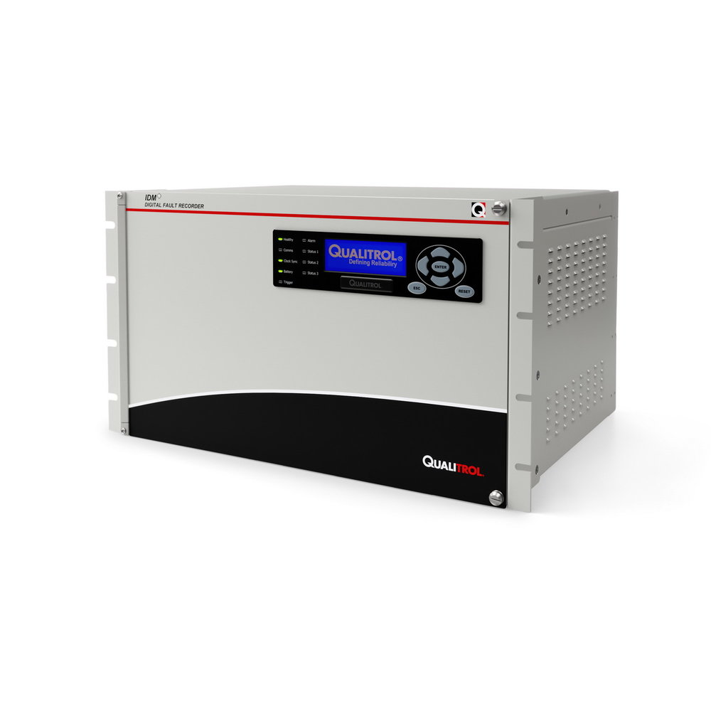 NATIVE HSM cAPABILITY - Qualitrol IDM+ for high speed monitoring capability in a multifunction power system monitoring device.