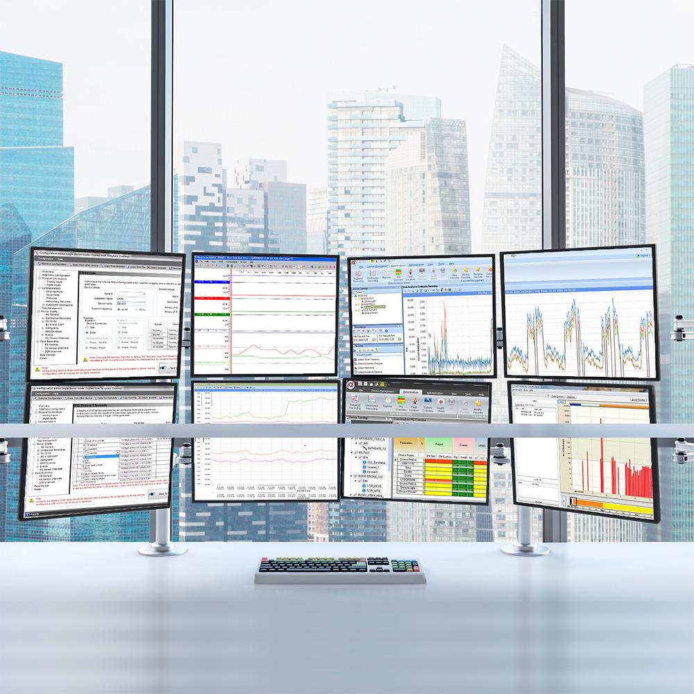 PSPM MONITORING SOFTWARE - iQ+ Master Station Software