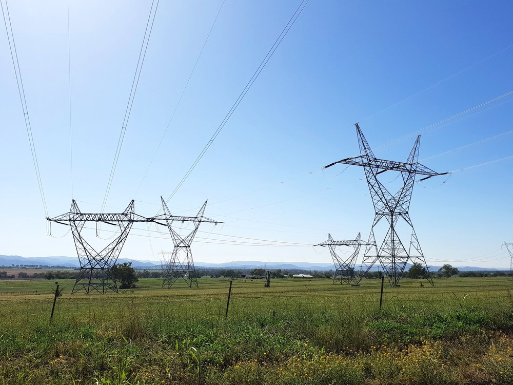 Overhead transmission lines - carrying energy 24/7