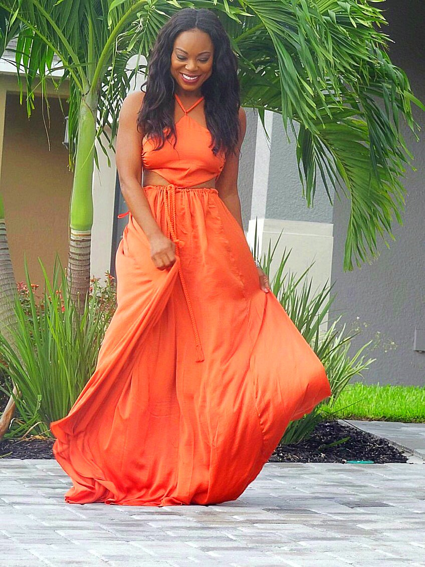 526af1e639 The Bold Vibrant Tropical Dress — MICKAA