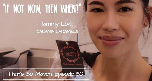 #Repost @yegmavens ・・・ Fantastic #WednesdayWisdom from Episode 50 guest Tammy Lok of @caramiacaramels. I think as entrepreneurs, we all have that point of no return where we stop and realize it's time to dive in with both feet and our whole heart. I loved hearing about how Tammy and her sister in law Alysia did that with Caramia Caramels. Listen to Tammy's full interview now at the link in our bio! #yeg #yegmavens #yegbiz #yegfood #yegwomen #caramel #candy #candymaking #entrepreneur #entrepreneurship #entrepreneurlife #womeninbusiness #womenentrepreneurs #femaleentrepreneur #business #wisdom #quote #bossbabe #buylocal #shoplocal #supportlocal #podcast #yegpodcast #nowplaying