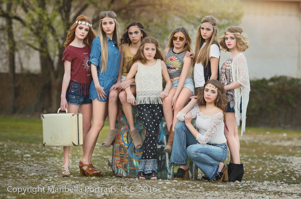 Spring Child Fashion Photographer | Maribella Portraits, LLC | www.maribellaportraits.rocks