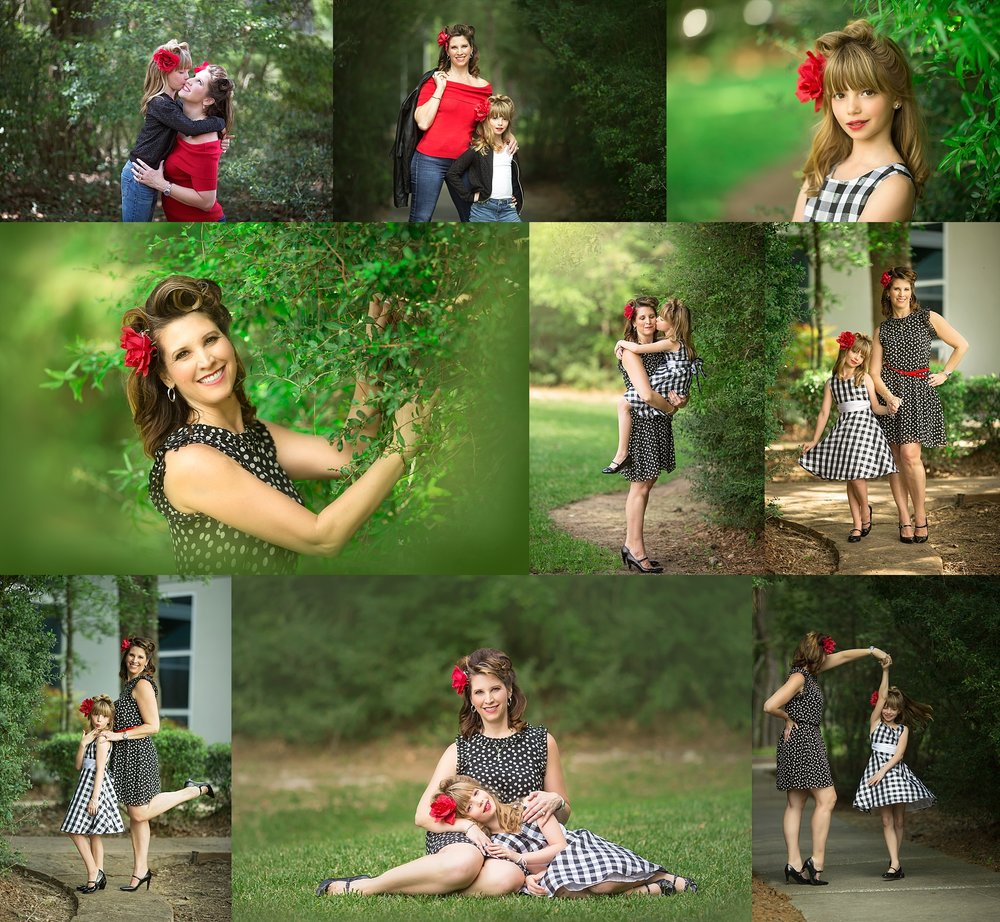 Houston Family Photographer| pin up photoshoot