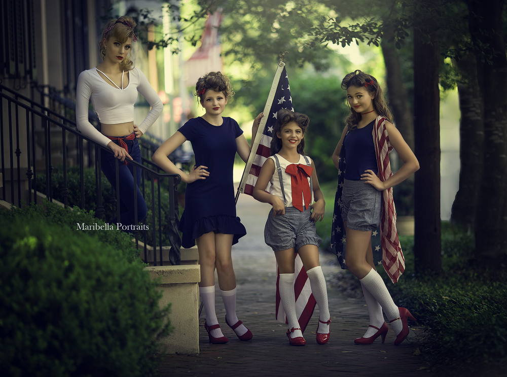 Americana Shoot in Savannah Georgia