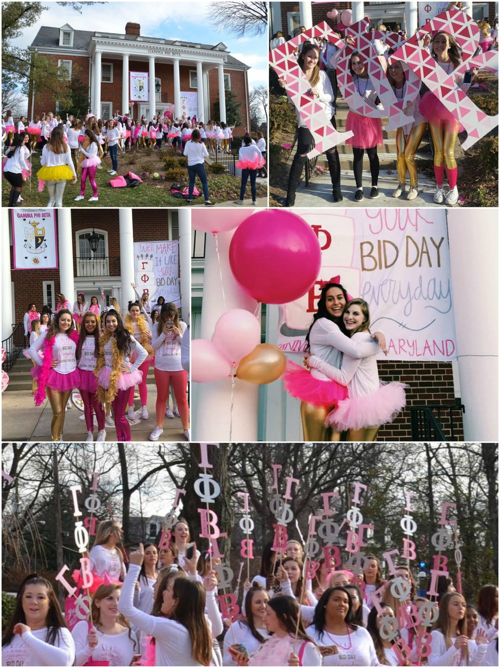 Gamma Phi Beta • Beta Beta • University of Maryland