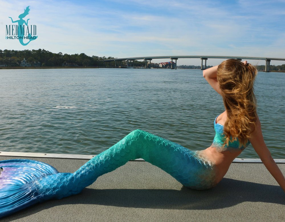 The Mermaid of Hilton Head in Broad Creek