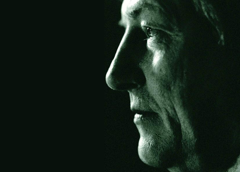 DAS HIMMLER-PROJEKT Ein Film von Romuald Karmakar, Deutschland 2000, 182 Min Dreharbeiten: Manfred Zapatka als Vortragender, München,1999 Photo © 2000 Yvonne Kranz / Pantera Film GmbH