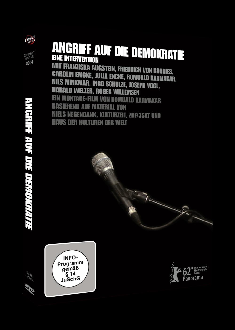 ANGRIFF AUF DIE DEMOKRATIE – EINE INTERVENTION