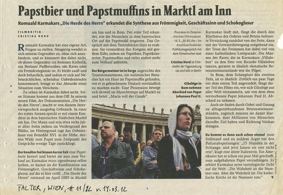 Papstbier und Papstmuffins in Marktl am Inn