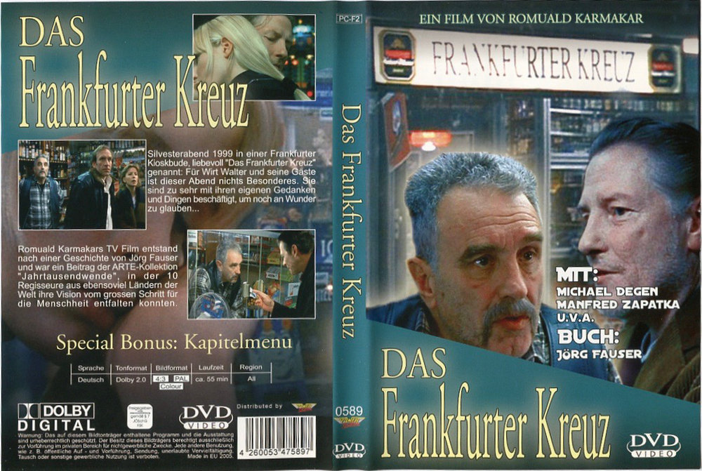 DAS FRANKFURTER KREUZ DVD-Edition. Schreckliches Artwork!