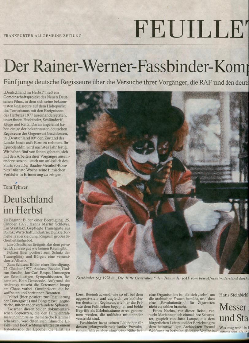 Der Rainer-Werner-Fassbinder-Komplex