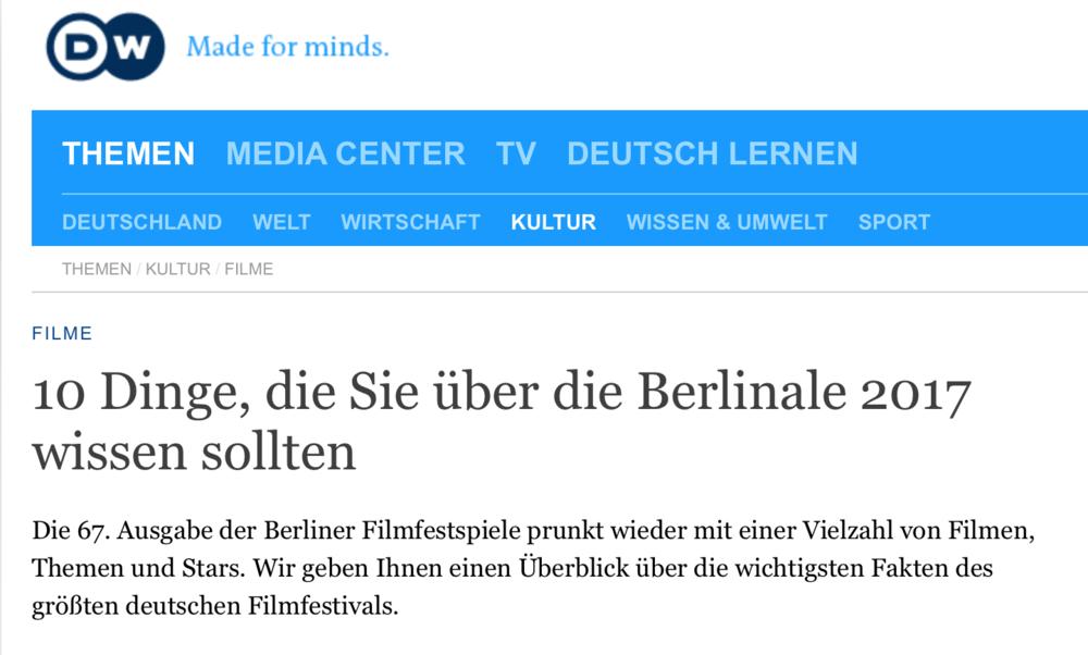 10 Dinge, die Sie über die Berlinale 2017 wissen sollten