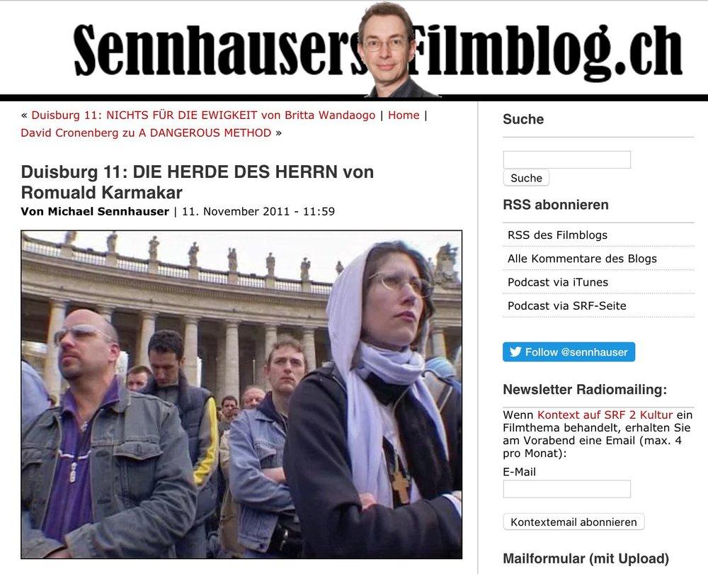 Duisburg 11: DIE HERDE DES HERRN von Romuald Karmakar