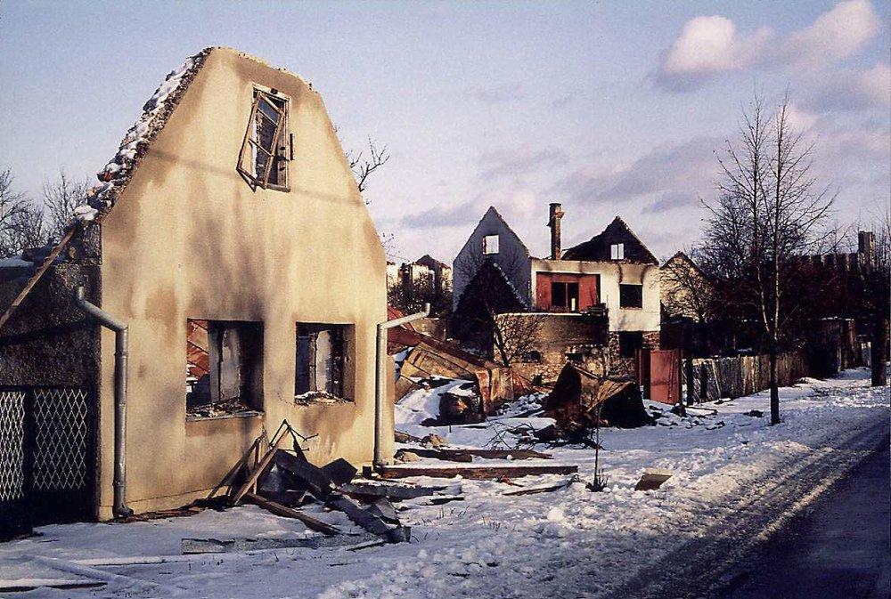 WARHEADS Ein Film von Romuald Karmakar, Deutschland 1989-92, 182 Min Dreharbeiten: Gospic, Kroatien, Dezember 1991 Photo © 1991 RK / Pantera Film GmbH