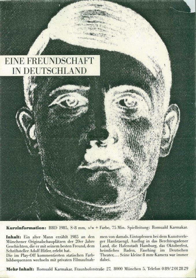 EINE FREUNDSCHAFT IN DEUTSCHLAND / A FRIENDSHIP IN GERMANY