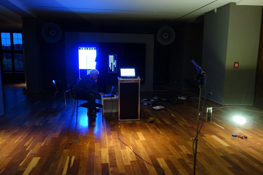 Romuald Karmakar / documenta 14 / Vorbereitungen