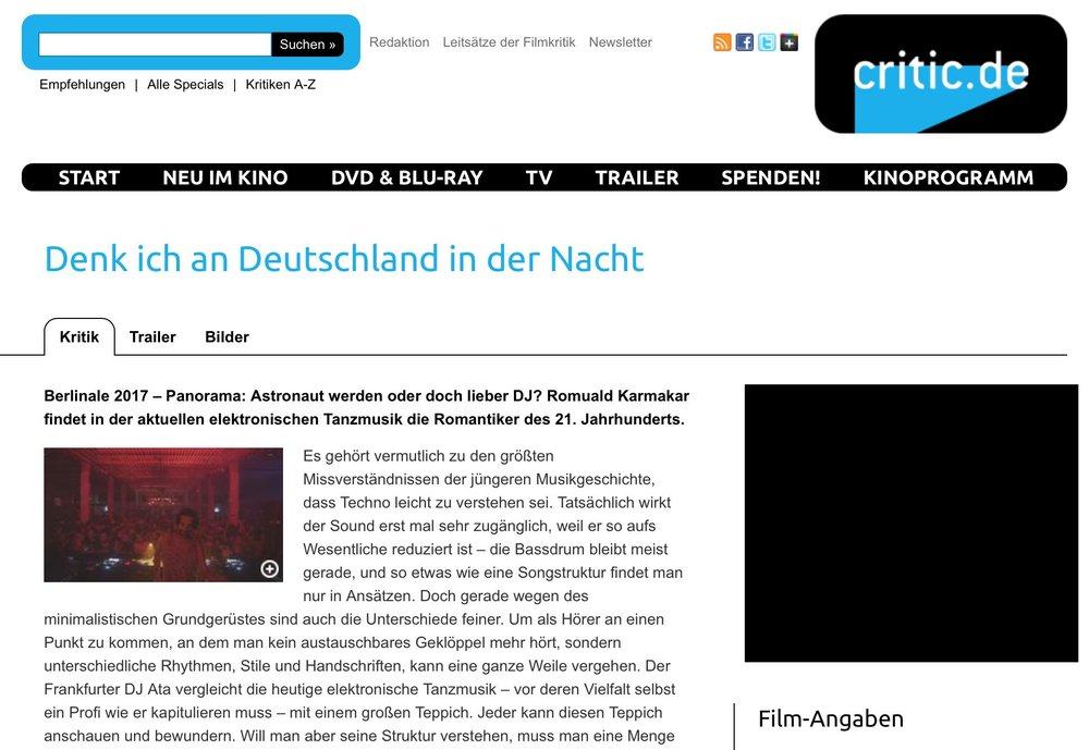 Copy of Copy of Denk ich an Deutschland in der Nacht