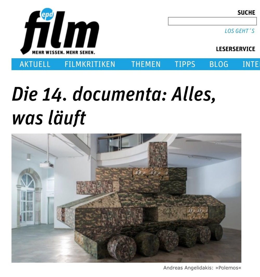 Die 14. documenta: Alles, was läuft