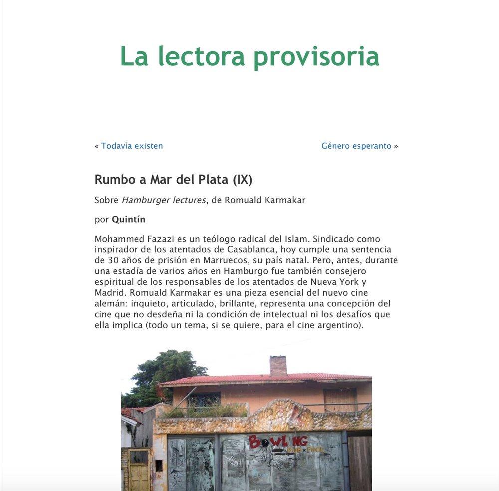 RUMBO A MAR DEL PLATA(IX)