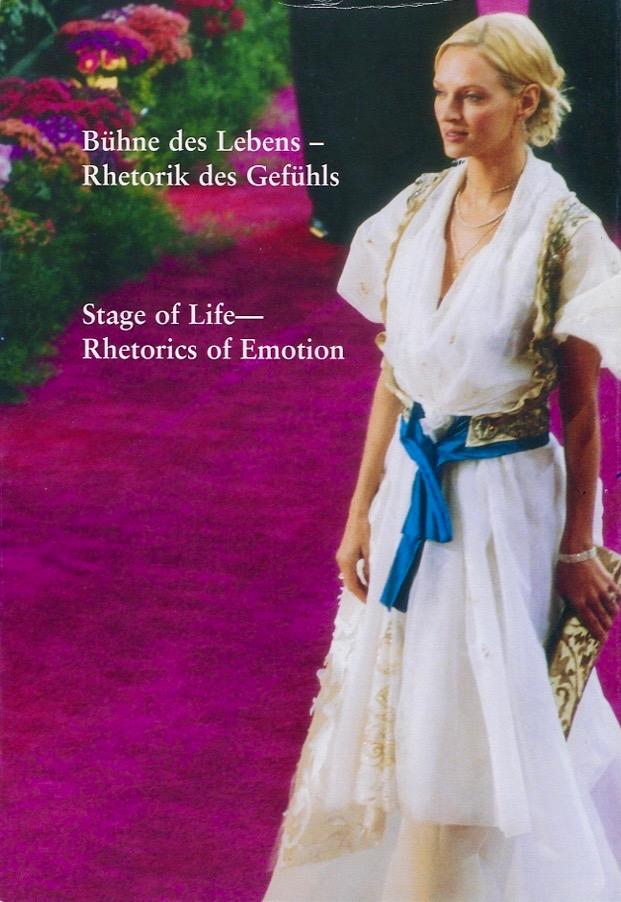 Bühne des Lebens – Rhetorik des Gefühls. Stage of Life – Rhetorics of Emotion