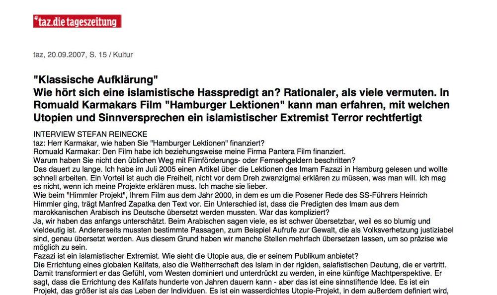"""""""Klassische Aufklärung"""""""