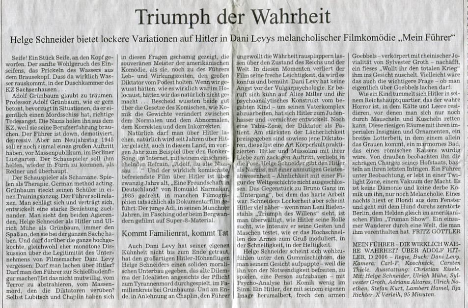 TRIUMPH DER WAHRHEIT