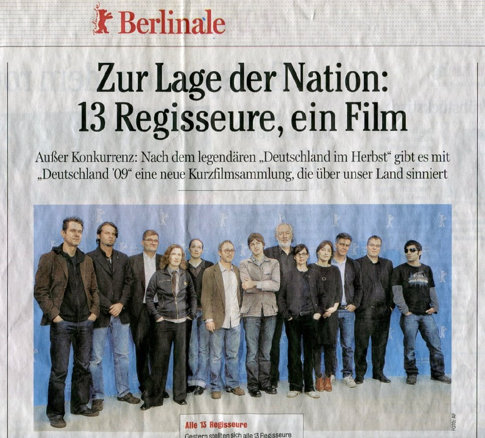ZUR LAGE DER NATION: 13 REGISSEURE, 1 FILM