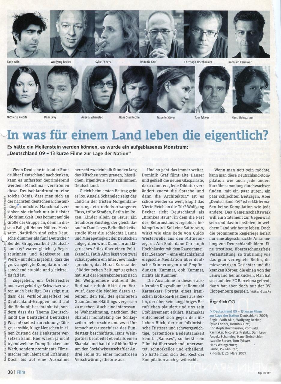 IN WAS FÜR EINEM LAND LEBEN DIE EIGENTLICH?