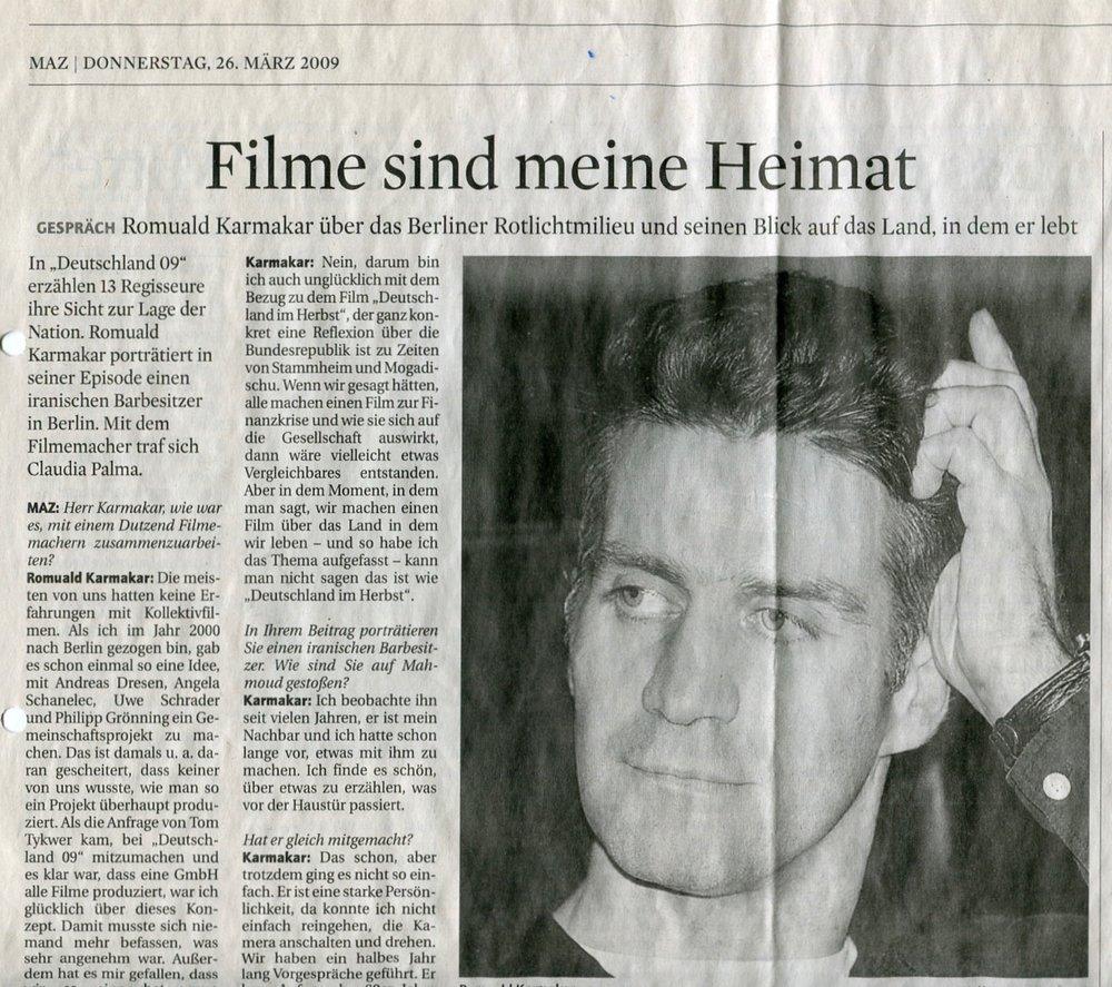 FILME SIND MEINE HEIMAT