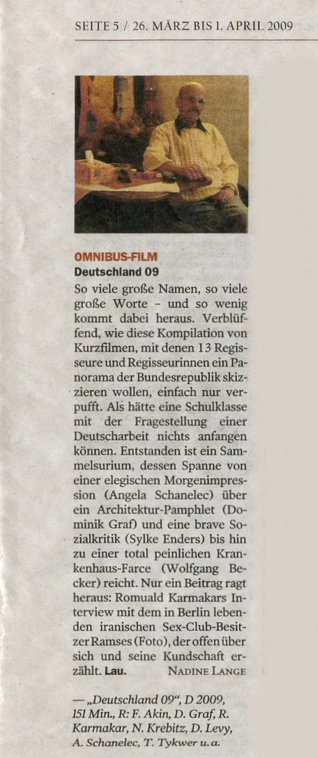 OMNIBUS-FILM / DEUTSCHLAND 09