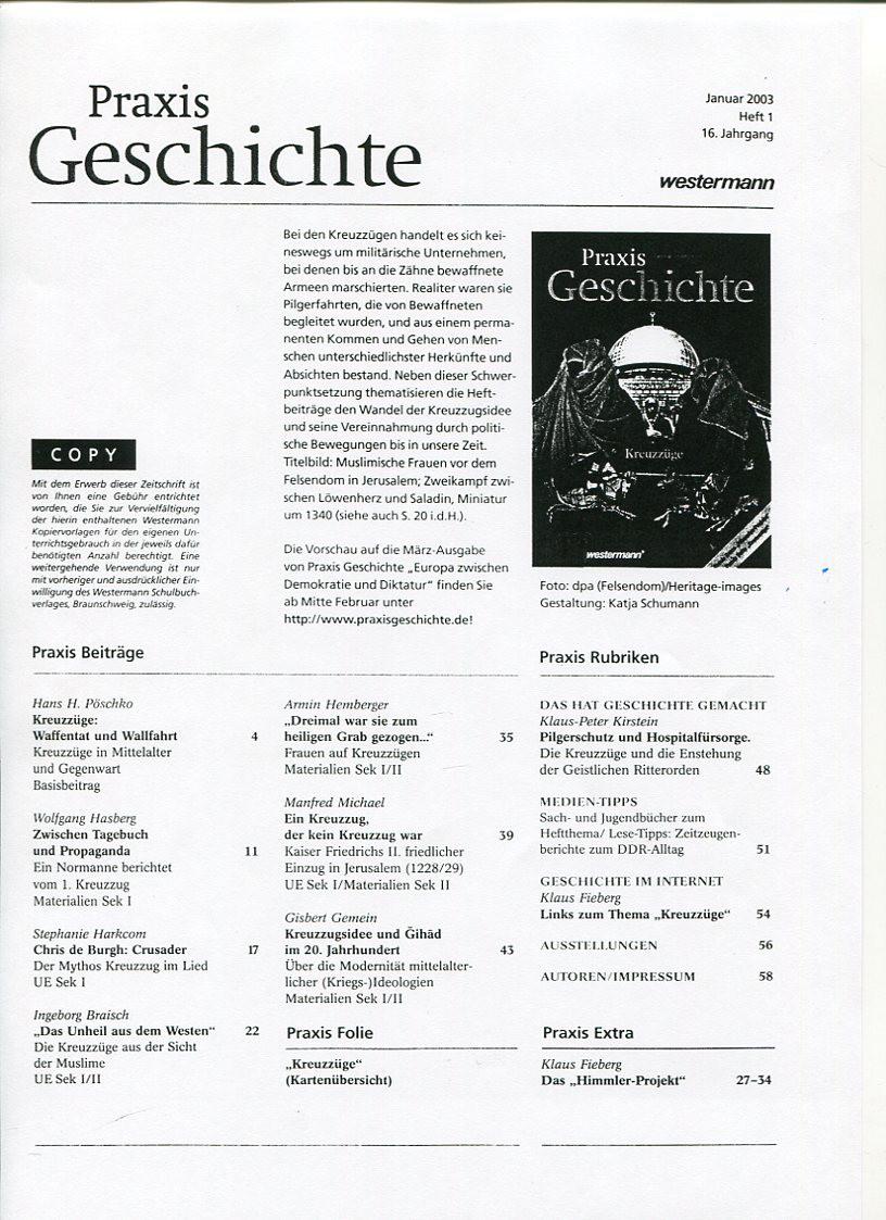 DAS HIMMLER-PROJEKT / PRAXIS EXTRA