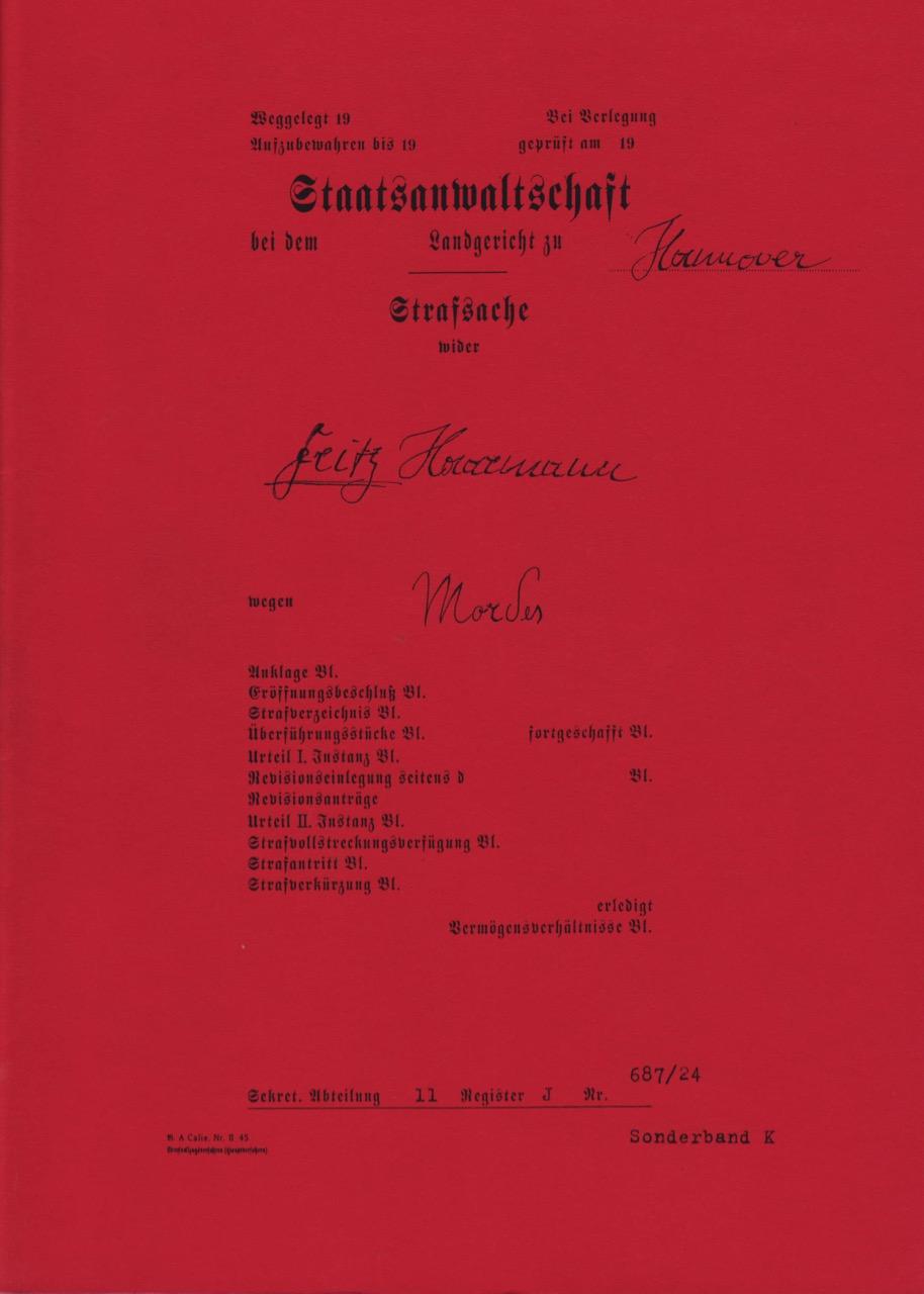DER TOTMACHER / PRESSEHEFT