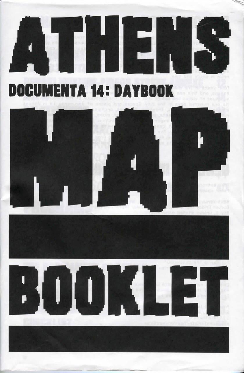 DOCUMENTA 14 / ATHENS BOOKLET