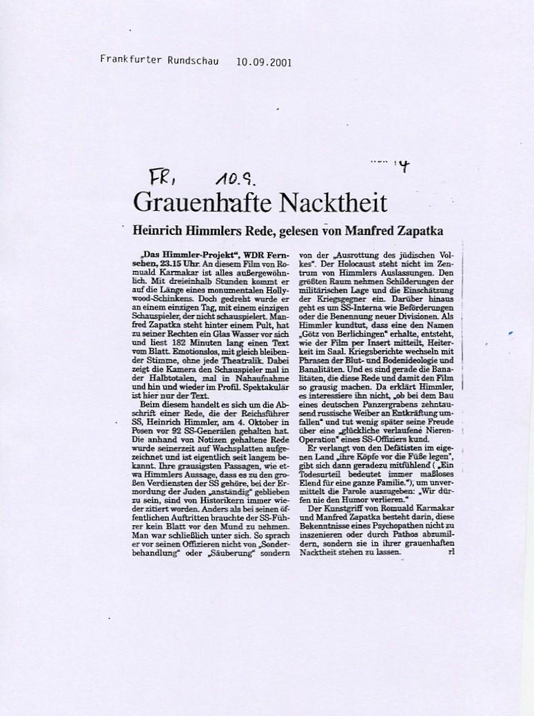 GRAUENHAFTE NACKTHEIT