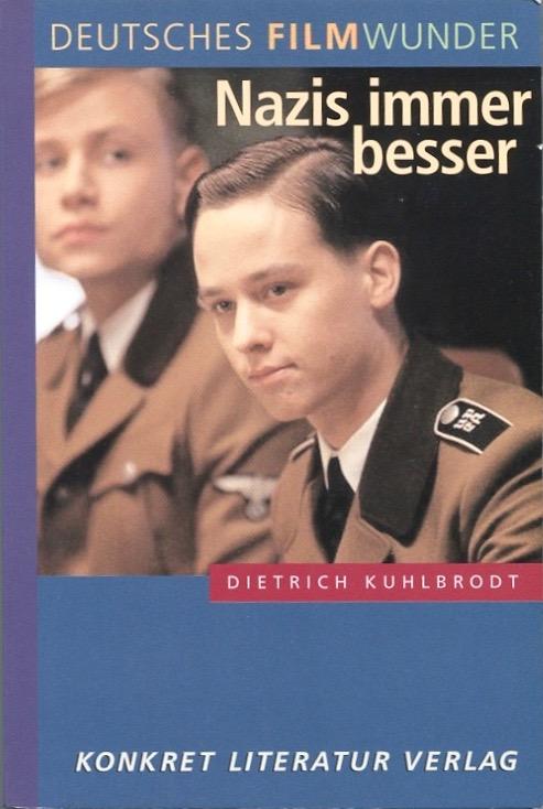 """Dietrich Kuhlbrodt: """"Ihr werdet mit der Kontaminierung fertig"""": Söldnergeschäft (""""Warheads"""", Karmakar) und Ausländerjagd (""""Terror 2000"""", Schlingensief) , –   Dietrich Kuhlbrodt: """"Das Himmler-Projekt"""" , –  in: Dietrich Kuhlbrodt: Deutsches Filmwunder. Nazis immer besser, Hamburg, 2006, S. 62 und S. 165   Read More"""